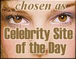 Celebrity Site of the Day, August 18th, 1999